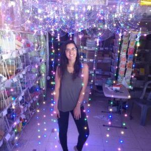 בלון שקוף עם אורות | בלון בובו | בלון באבל