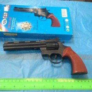 אקדח קפצונים | אקדח קאובוי גדול בקופסא