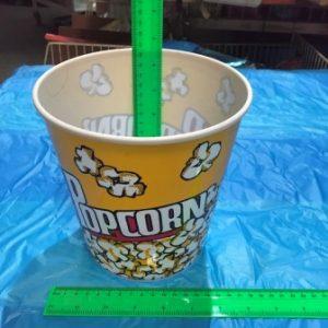 כוס פופקורן גדול מפלסטיק | כוס פופקורן ביתי | הפתעות ליום הולדת