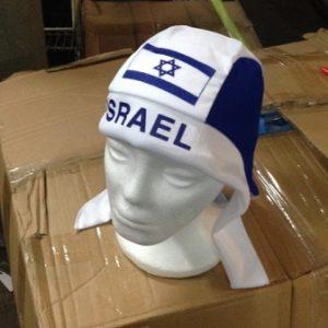 בנדנה דגל ישראל | כובע דגל ישראל