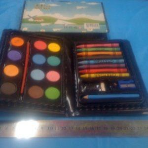 קלמר צבעים 24 חלקים | קלמר עם צבעים | הפתעות ליום הולדת