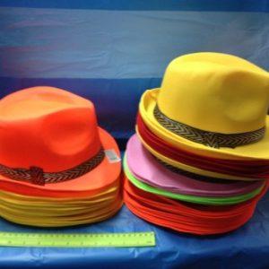 כובע בד | כובע סבא | כובע לבד צבעוני