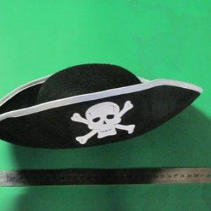 תחפושת פיראט | כובע פיראט משולש