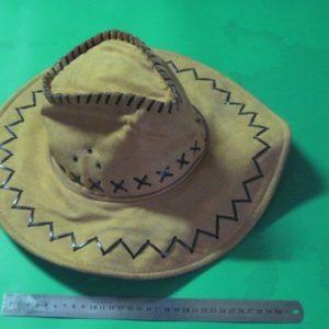 כובע קאובוי לבד | קאובוי תחפושת