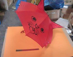מטרייה לילדים עם אוזניים | מטרייה חתול