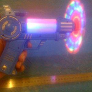 אקדח אור עם פלופלור ומוזיקה | אביזרים ליום העצמאות