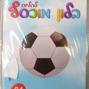 בלון כדורגל תלת מימד גודל 24 אינצ'