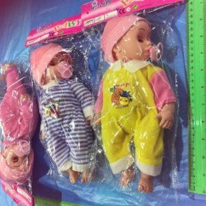 בובה בוכה עם מוצץ | צעצועים בסיטונאות