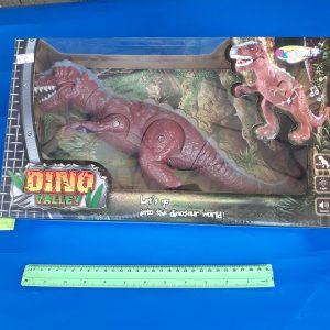 דינוזאור גדול מהלך עם אורות | צעצועים בסיטונאות
