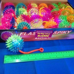 כדור קוצים אור | כדור קוצים גומי | צעצועים בסיטונאות