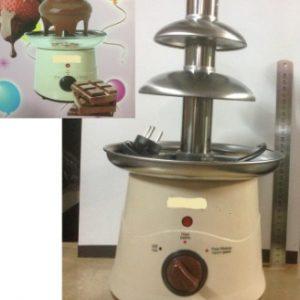 """מפל שוקולד מקצועי נירוסטה כ45 ס""""מ   מפל שוקולד איכותי"""