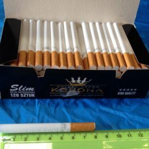 סיגריות למילוי | סיגריות ריקות | סלים 120 יחידות