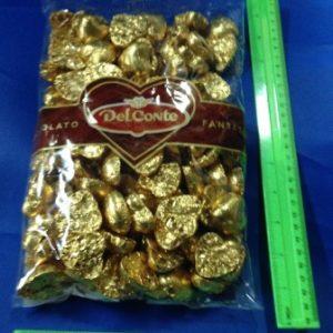 """לבבות שוקולד 1 ק""""ג 120 יחידות"""