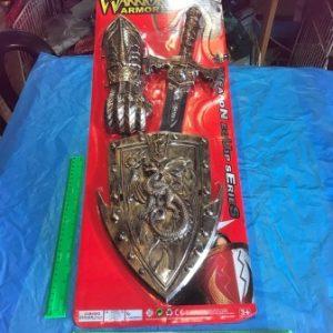 תחפושת אביר עם חרב ומגן | אביר לפורים