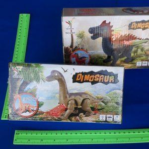 דינוזאור בינוני על סוללות | צעצועים בסיטונאות
