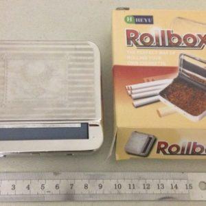 מכשיר לגלגול טבק | מכונה לגלגול סיגריות מתכת