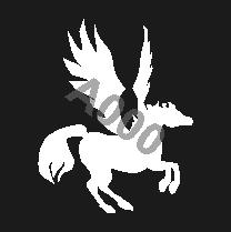 קעקוע סוס מעופף | קעקוע זמני | קעקוע דגם 192