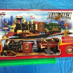 רכבת קלאסית גדולה עם סוללות | צעצועים בסיטונאות