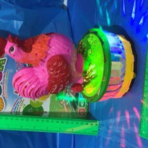 קרוסלה תרנגול עם אור ומוזיקה | צעצועים בסיטונאות
