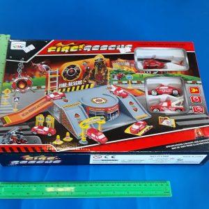 תחנת כיבוי אש בינונית | תחנת כיבוי אש לילדים | צעצועים בסיטונאות