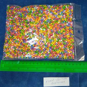כדורי קלקר קטנים צבעוני | כדורי קלקר יצירה