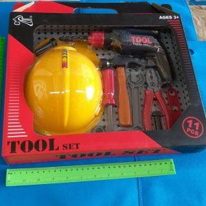 כלי עבודה בקופסה | כלי עבודה לילדים