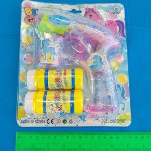 אקדח בועות סבון 2 מיכלים | אביזרים ליום עצמאות