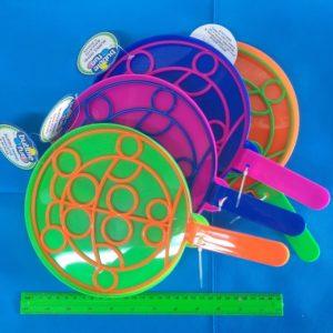 כלים לבועות סבון | מגש וחישוק מעוצבים ליצירת בועות סבון