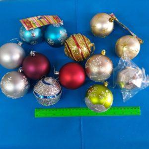 כדורים נוצצים לתלייה | כדורים מפוארים וגדולים