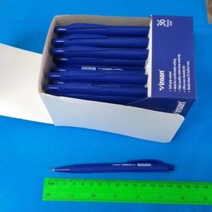 עט שמן | עט לחצן כדורי