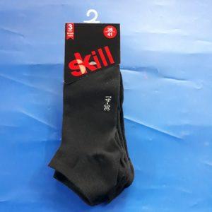 גרביים עקביות | צבע שחור 3 זוגות 39-42