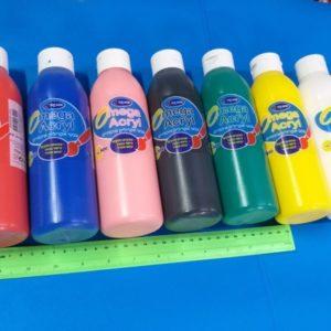 צבעים אקריליים צבעי אקריליק צבע אקרילי 500 גרם