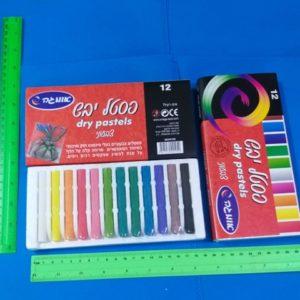 צבע פסטל יבש צבעי פסטל יבש פסטל יבש צבעוני 12 צבעים