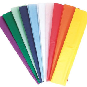 נייר קרפ נייר קרפ ליצירה צבעוני