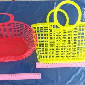 סל שוק פלסטיק | סל קניות | סלסלת פלסטיק